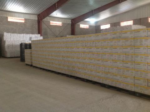 One of WFP Sana'a Warehouses