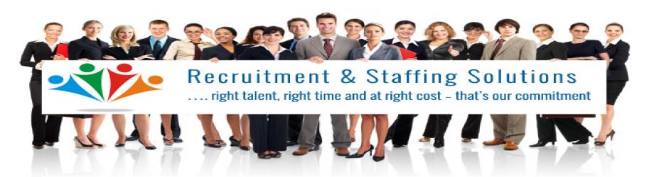 Recruitment and Staffing Services